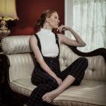 Fashion Editorial Back in Plaid